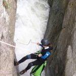 Un canyon pour découvrir la descente en rappel