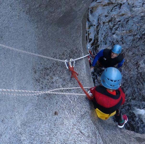 Gorges de la Castellane - canyoning découverte
