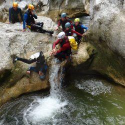Gorges de Galamus - canyoning découverte