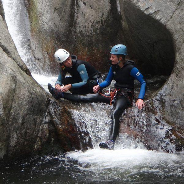 Gorges du Llech - canyoning sensations (fortes)
