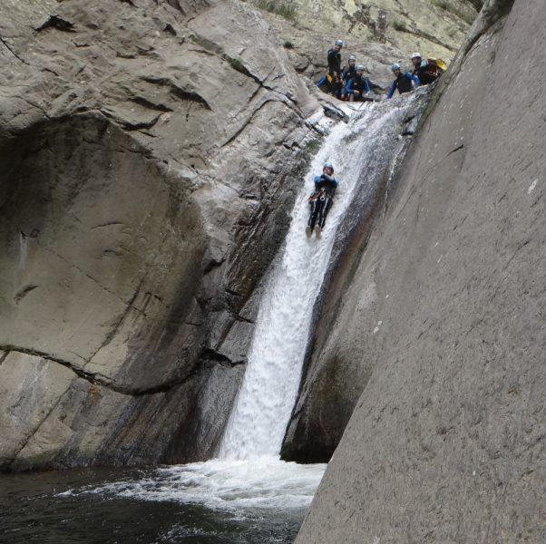 GGorges du Llech - canyoning sensations (fortes)