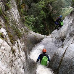 Canyoning des gorges de Maria Valenta