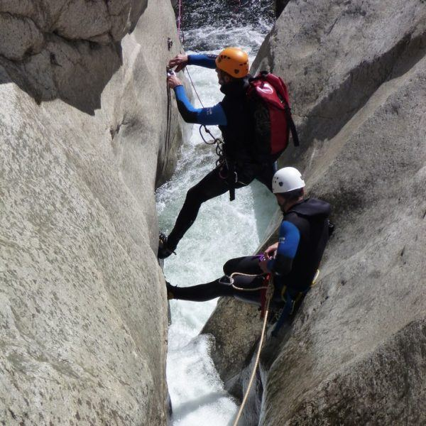 Canyoning du Mas Calsan
