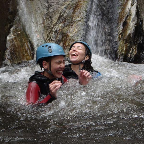 Canyoning en eaux chaudes
