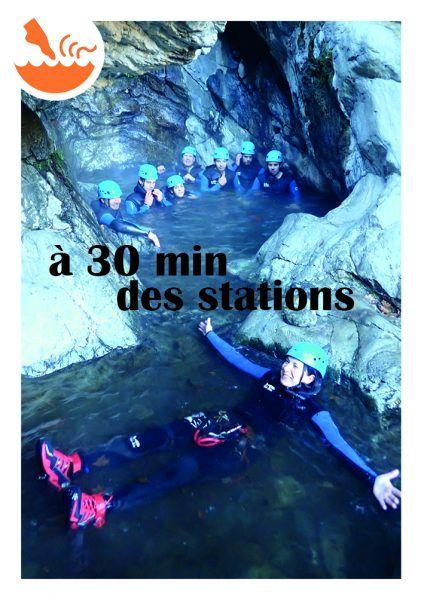 Canyon thermal de Thuès-les-Bains
