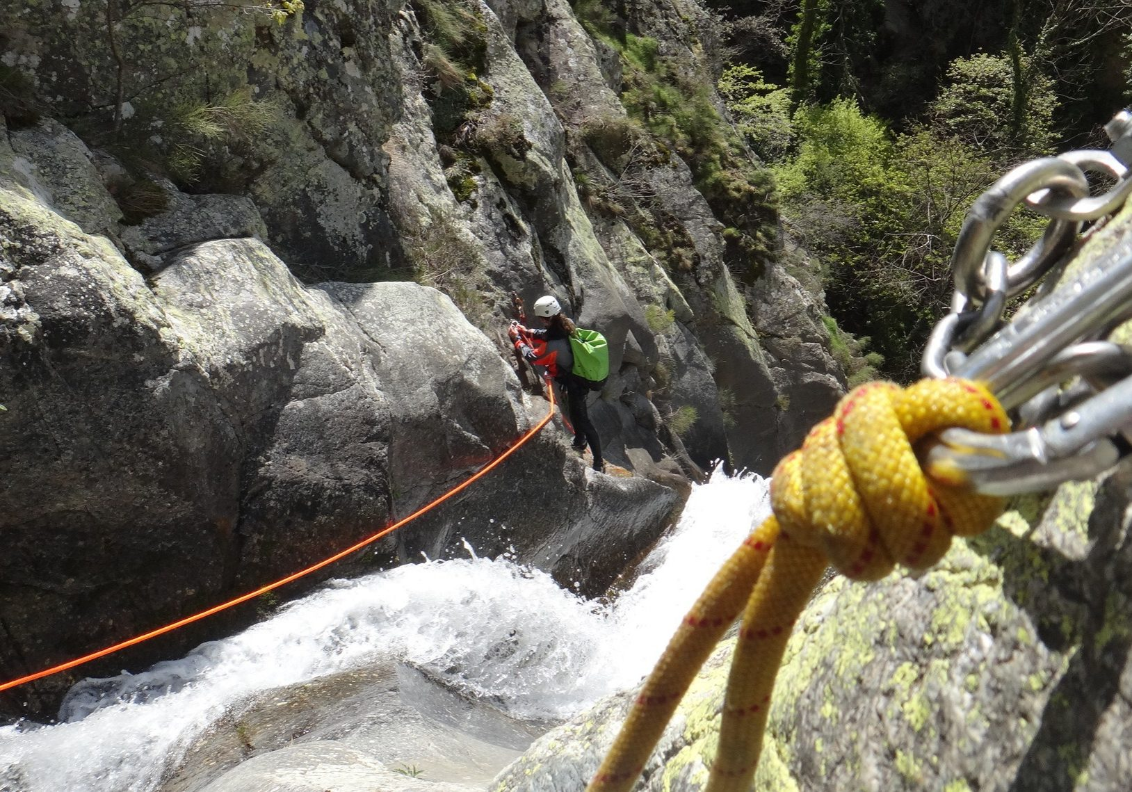 Canyoning aventure des gorges de Taurinya
