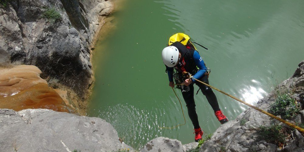 Canyoning Gorges de Las Canals